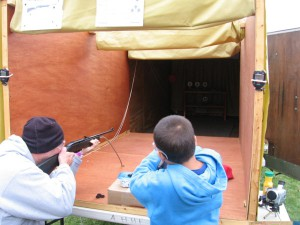 People-Using-Blasting-Cancer-Airgun-Range